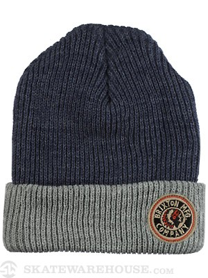 Brixton Saint Beanie Denim/Grey