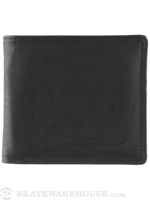 Brixton Strum Wallet Black