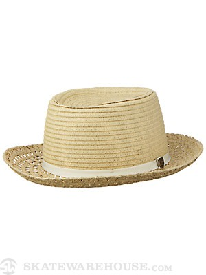 Brixton Sue Girl's Hat Tan/Cream SM