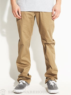 Brixton Toil Chino Pants Dark Khaki 34
