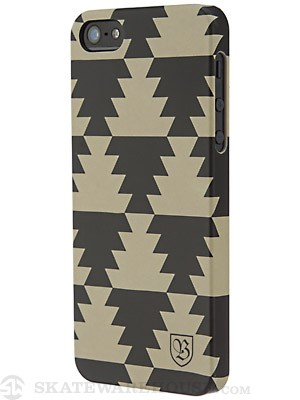 Brixton Tangier IPhone 5 Case  Tan/Black