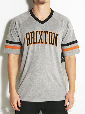 Brixton Victor Shirt Heather Grey XL
