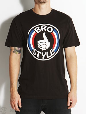 Bro Style Patriot Tee Black MD