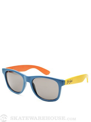 Bro Style Sunnies  Blue/Orange/Yellow