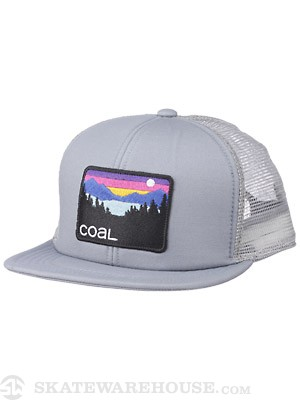 Coal The Hauler Hat Grey Adj.
