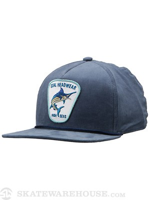 Coal The Marlin Hat Slate Adjust