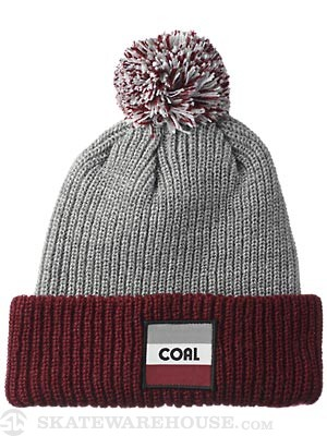 Coal The Stanwood Beanie Burgundy