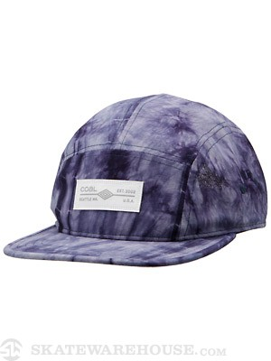 Coal The Ted 5 Panel Hat Blue Adj.