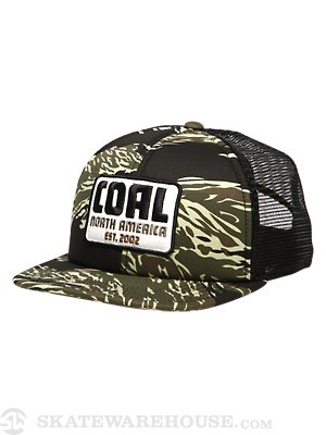 Coal The Nelson Hat Camo Adj.