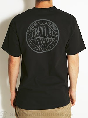 Creature Blk Magic Tee Black SM