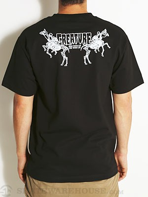 Creature Die With Us Tee Black SM