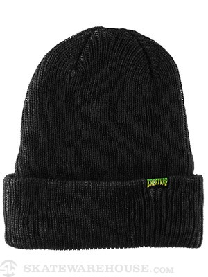 Creature Double Vision Beanie Black/Dark Grey