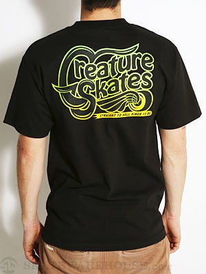 Creature Freestyler Tee Black LG