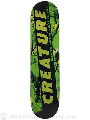 Creature Give'em Hell Team Deck 7.8 x 31.7
