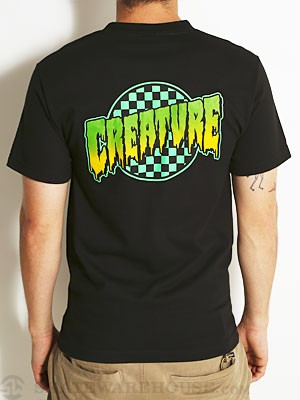 Creature Go Home Tee Black SM