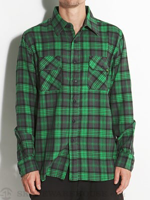 Creature Hannibal Flannel Green SM