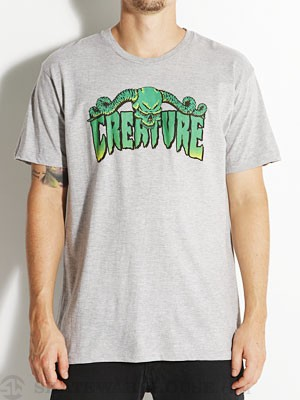 Creature Horns Tee Athletic Heather MD
