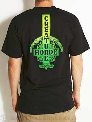 Creature Ride Til You Die Tee Black SM