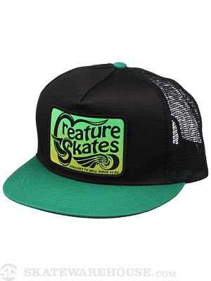 Creature Straight To Hell Mesh Hat Black/Green