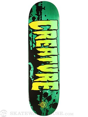 Creature Stained XS Mini Deck  7.4 x 27.6