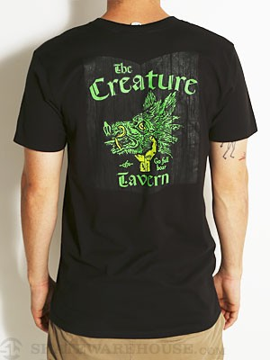 Creature Tavern Tee Black SM