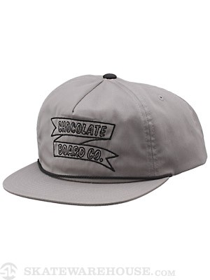 Chocolate Board Co. Hat Grey