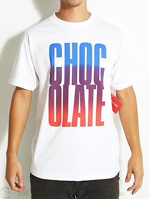 Chocolate Big Chocolate Tee White MD