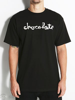 Chocolate Chunk Tee Black/Silver SM