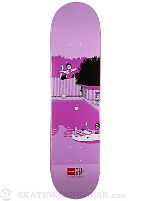 Chocolate Berle Trunk Mansion SM Deck  8.0 x 31.88