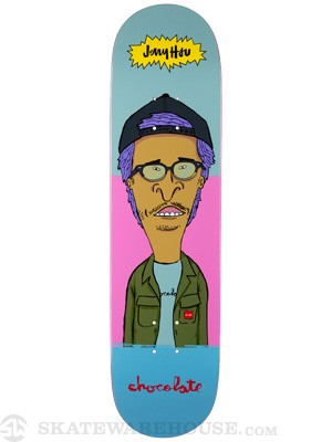Chocolate Hsu Jer And MJ Deck  8.0 x 31.5