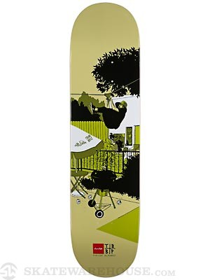 Chocolate Alvarez Trunk Mansion Deck  8.125 x 31.63