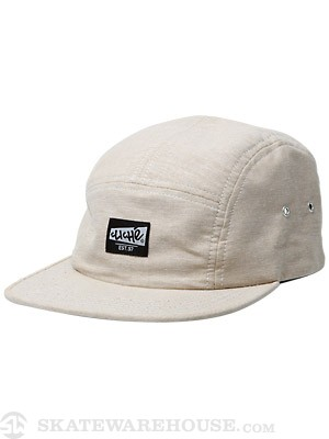 Cliche Chambray 5 Panel Camp Hat Tan
