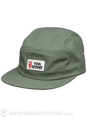 Cliche Risen Fist 5 Panel Hat Army Adjust
