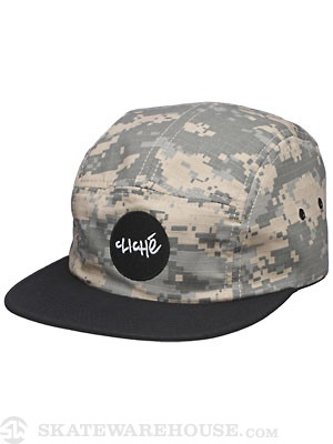 Cliche Wallace 5 Panel Hat Army/Combat One Size