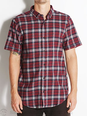 Comune CS Alton S/S Flannel Oxblood XL