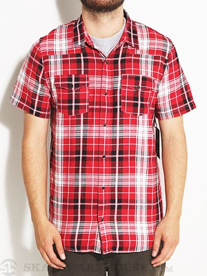 Comune CS Diggs Woven Shirt Red MD