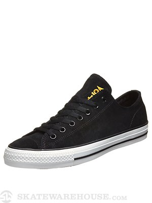 Converse X Black Sabbath CTAS Pro Ox Shoes Black