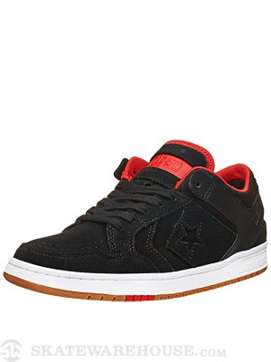 Converse Weapon '86 Skate Shoes  Black/Red