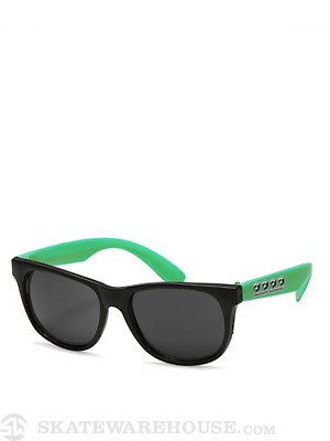 Consolidated 4 Cube Sunglasses Green