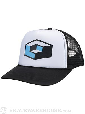 Consolidated Cube Mesh Hat Black/White