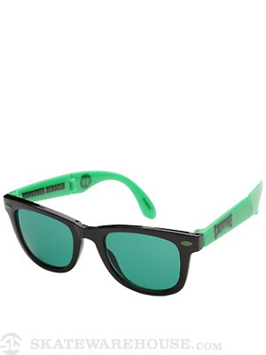 Creature Party First Sunglasses  Black/Green