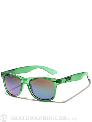 Creature Trannies Sunglasses  Translucent Green