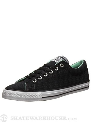Converse CTS Ox Shoes Black/White/Peppermint