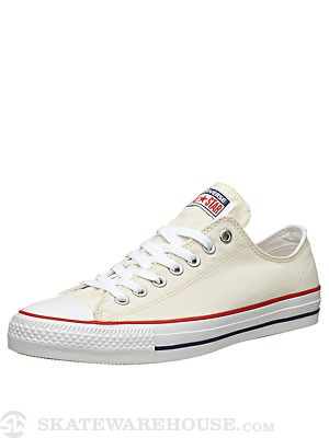 Converse CTAS Pro Shoes Natural/White/Red