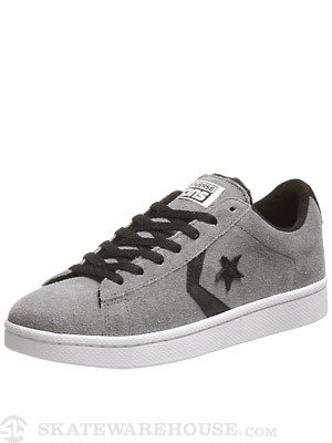 Converse Pro Leather S Shoes  Charcoal Gray/White/Black