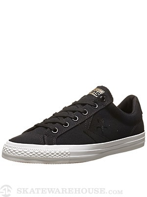 Converse Star Player Skate Ox Shoes Black/White