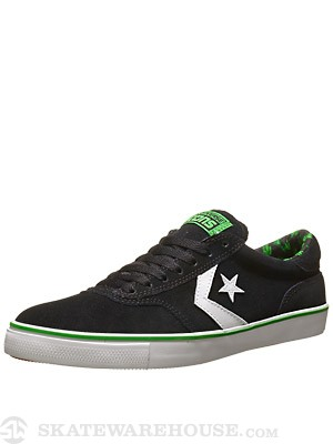 Converse Trapasso Pro II Shoes Black/Jungle Green