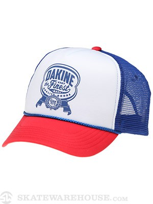 Dakine Finest Made Trucker Hat Blue/Red Adjust