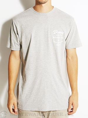 DC First Tee Heather Grey SM