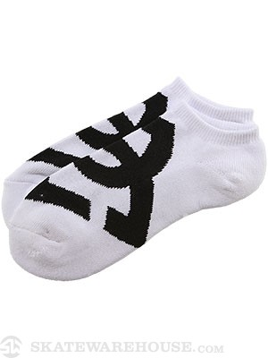 DC Suspension Socks White LG/XL (10-13)